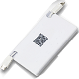 branded credit card size power bank PBX-101
