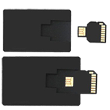 branded credit card USB stick FCD-086
