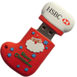 Promotional Christmas USB Flash Drives XUB-703