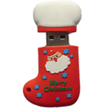 Branded Christmas USB Flash Drives XUB-703