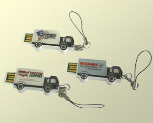 custom usb Drives - Truck